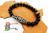 Men Ethnic Bracelet Tibetan Jewelry Black Beaded The Blacker The Berry®