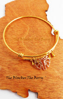 Elephant Bangle Gold Women Bracelets