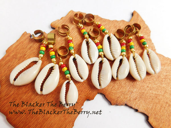 Rasta Hair Jewelry Loc Accessories Dreads Wholesale 10 pieces