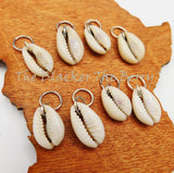 Cowrie Shell Hair Accessories Jewelry Silver  Adjustable