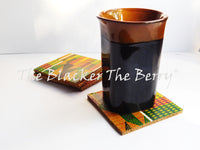 African Coasters Set of 4  Kitchen Home Decor