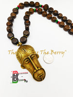African Men Necklace Pan African RBG Jewelry The Blacker The Berry®