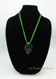 Spring Green Women Necklace Jewelry Sale Murano Glass