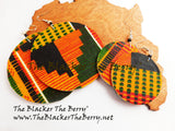 Kente Earrings Mom Daughter Jewelry African The Blacker The Berry