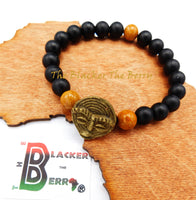 African Men Bracelet Ethnic Jewelry Blacker Brass The Blacker The Berry®