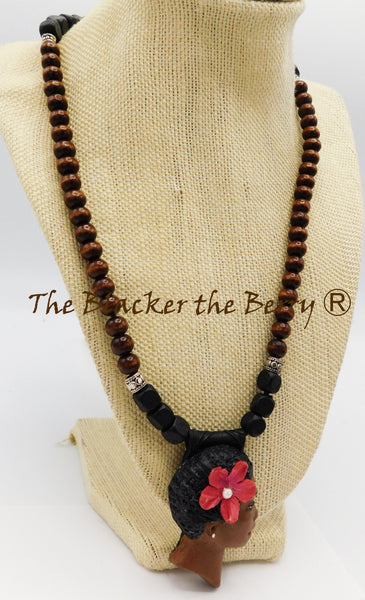 African Women Necklace Handmade The Blacker The Berry Ⓡ