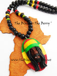 Men Necklace Rasta Man Handmade The Blacker The Berry®