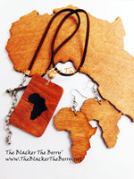 African Jewelry Set Wooden Handmade The Blacker The Berry®