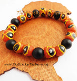 Men African Bracelet Beaded Ethnic Jewelry