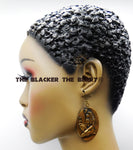 Egyptian Earrings Brass Jewelry Women Dangle Afrocentirc Ethnic