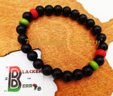 Red Black Green Bracelet RBG Pan African Jewelry