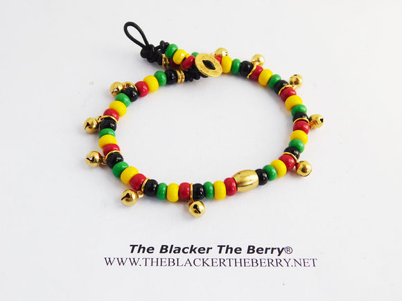 Anklet Rasta Beaded African Ethnic Jewelry Women