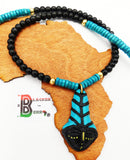 African Men Necklaces Ethnic Afrocentric Black Jewelry The Blacker The Berry®