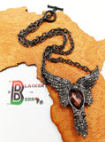 Hawk Jewelry Women Bird Necklace