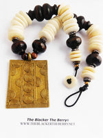 African Necklaces Large Big Beads Kenya Ethnic Jewelry