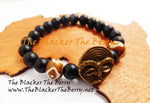 African Bracelet Black Stretch Jewelry Unisex The Blacker The Berry