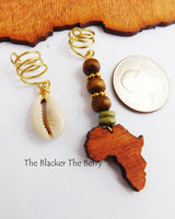 African Hair Jewelry Cowrie Shell Locs Accessories Ethnic Beaded The Blacker The Berry®