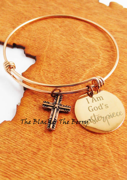 Cooper Bangle Christian God Women Jewelry Charm