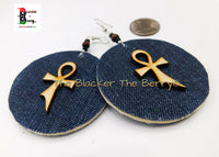 Ankh Earrings Jean Handmade Jewelry The Blacker The Berry