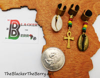 Rasta Hair Jewelry Set Ethnic Accessories The Blacker The Berry