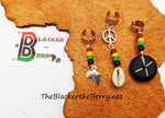 Rasta Hair Jewelry Accessories African Locs Dreads Ethnic Afrocentric