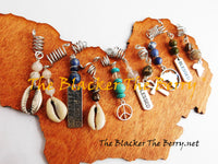 Wholesale 10 Pieces Hair Accessories Beaded Dreads Locs Jewelry The Blacker The Berry®