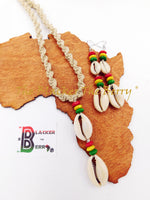 Rasta Jewelry Set Necklace Earrings Hemp Jewelry The Blacker The Berry®