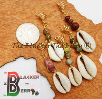 Hair Jewelry Natural Stone Ethnic Loc Jewelry Handmade