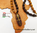 African Tribal Men Face Necklaces Ethnic Handmade The Blacker The Berry