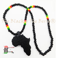 Africa Necklace Ethnic Afrocentric Beaded Long Men Women