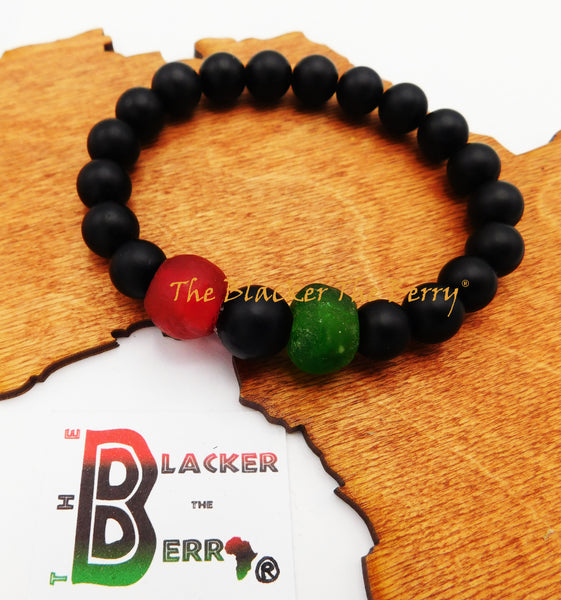 RBG Bracelet Pan African Red Black Green Jewelry
