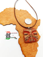 Ethnic Mask Necklace Handmade The Blacker The Berry®