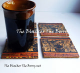 African Coasters Elephant Home Decor The Blacker The Berry®