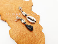 Hair Jewelry Ethnic Black Power Fist Accessories Cowrie Handmade