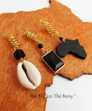 Afrocentric Hair Jewelry Accessories Black Gold The Blacker The Berry®