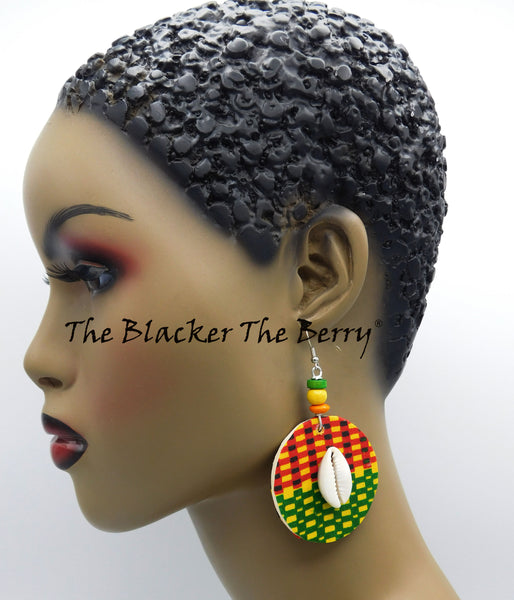 Kente Earrings Black Owned Business