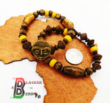 African Bracelets Mask Beaded Men Women Jewelry The Blacker The Berry®