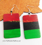 African Flag Pan African Earrings Jewelry RBG