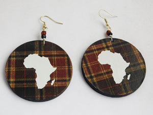 Africa Earrings Handmade Jewelry Afrocentric