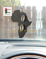 Africa Car Charm Black Cowrie Handmade Accessories Gift Ideas