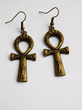 Ankh Earrings Egyptian Jewelry Ankhs African Women Earrings Ladies Gift Ideas