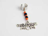 Basketball Hair Jewelry Sports Basketball Mom Dreads Braids Twist Beadedt
