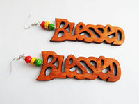Blessed Earrings African Beaded Jewelry