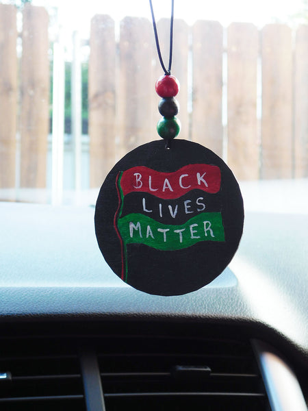Black Lives Matter Car Accessory