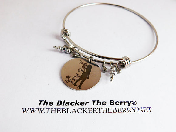 Boss Bangle Queen Jewelry Silver Jewelry