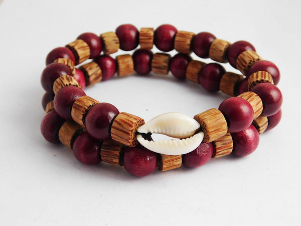 Cowrie Shell Bracelet Men Jewelry Beaded