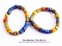 African Bracelets Jewelry Beaded Colorful