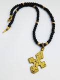 Cross Coptic Necklace African Ethiopian Beaded Jewelry