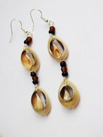 Cowrie Shell Earrings African Jewelry Ethnic Women