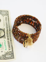 Ethnic Beaded Bracelets Jewelry Tassel Cowrie Shell Women Christmas
